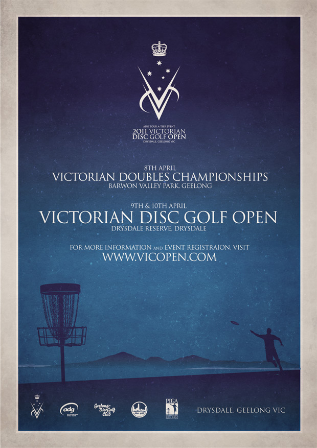 2011 Victorian Disc Golf Open - Info