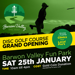 Barwon Valley Disc Golf Course - Grand Opening @ Barwon Valley Disc Golf Course | Belmont | Victoria | Australia